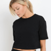 Boxy Crop Lounge Top - Front