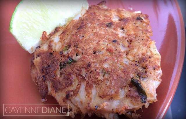 Harissa Crab Cakes