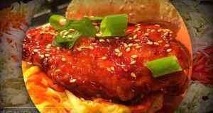 Spicy Korean Chicken Sandwich
