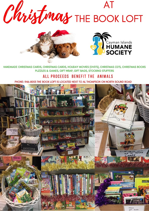 Christmas At The Book Loft Cayman Islands Humane Society