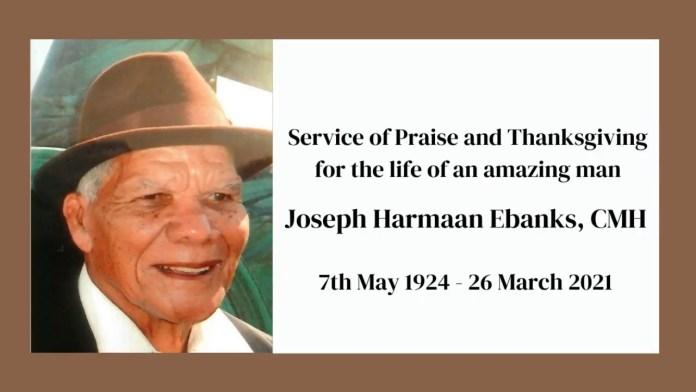 Service for Joseph Harmaan Ebanks