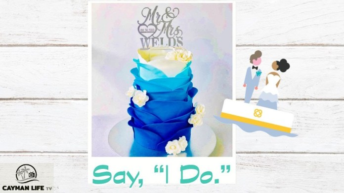 Say I Do to Carousel Bakery Cayman's Cakes of the Week