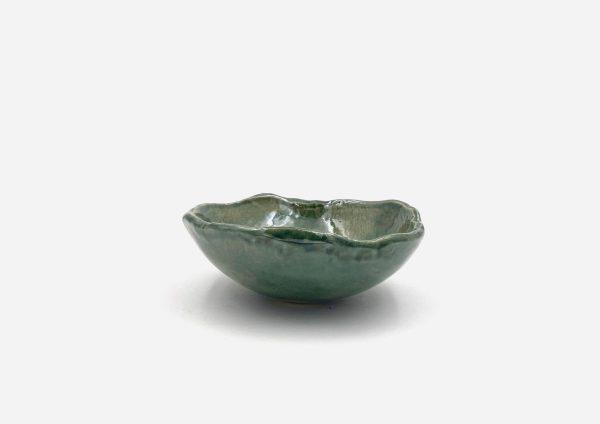 Bowl a Mano Liso. Viridian. (S)