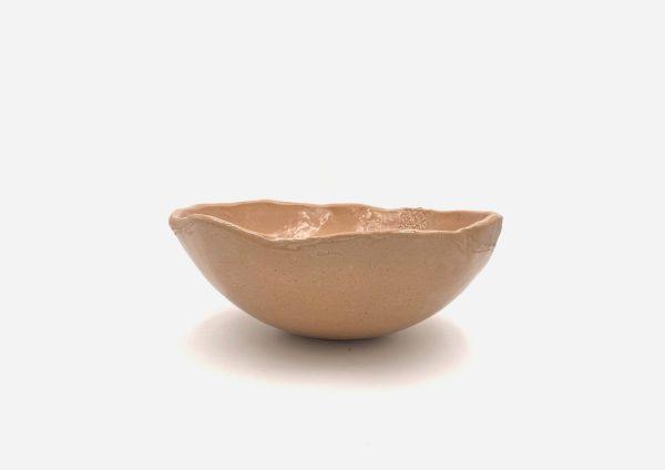 Bowl a Mano Encaje. Piel. (L)