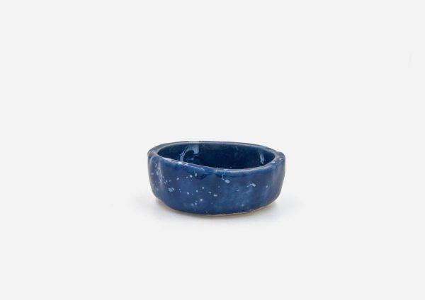 Salsera. Azul Cobalto Dalamata Blanco. (S)