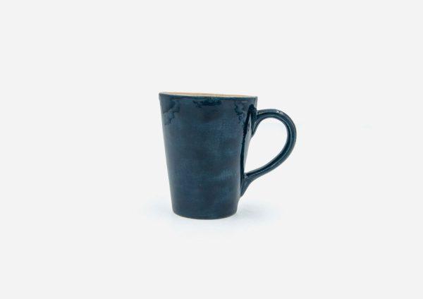 Mug Cono. Azul Oscuro. (S)