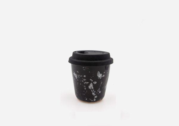 Keep Cup. Negro Dalmata Blanco. (S)