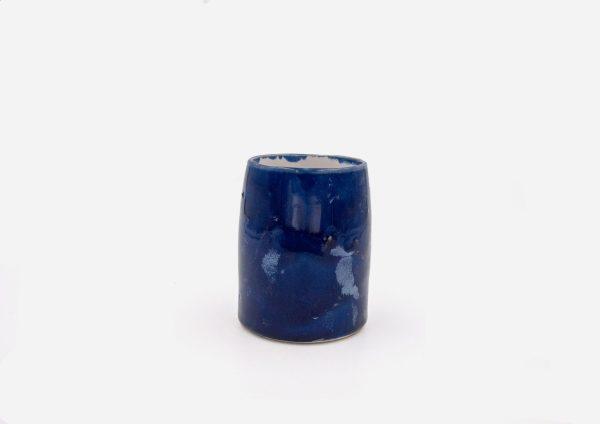 Vaso Delgado. Azul Cobalto. (S)