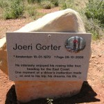 Joeri's plaque at Page