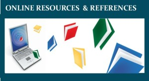 Online Resources & References button