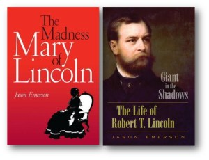 Open Afternoon Book Club (The Madness of Mary Todd Lincoln/ Giant in the Shadow both by Jason Emerson)