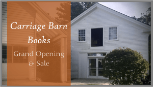 Carriage Barn Books Grand Opening