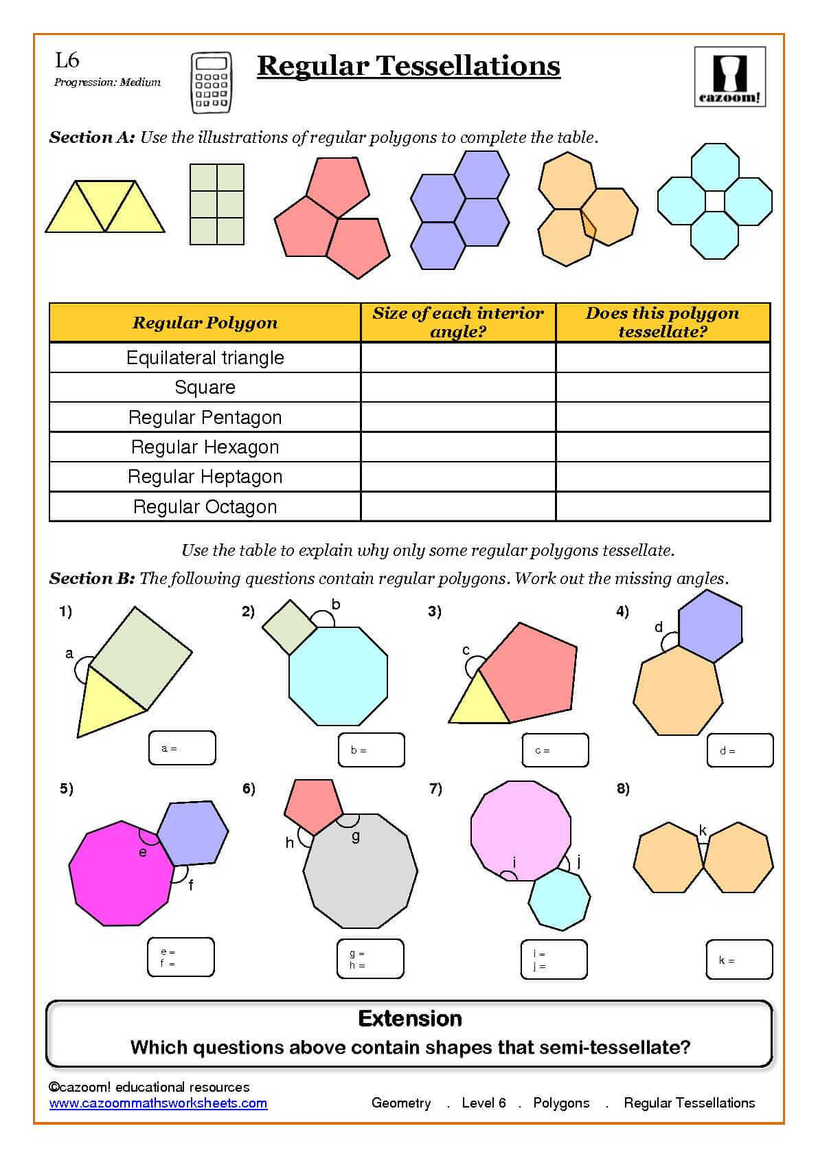 Secondary Maths Worksheets