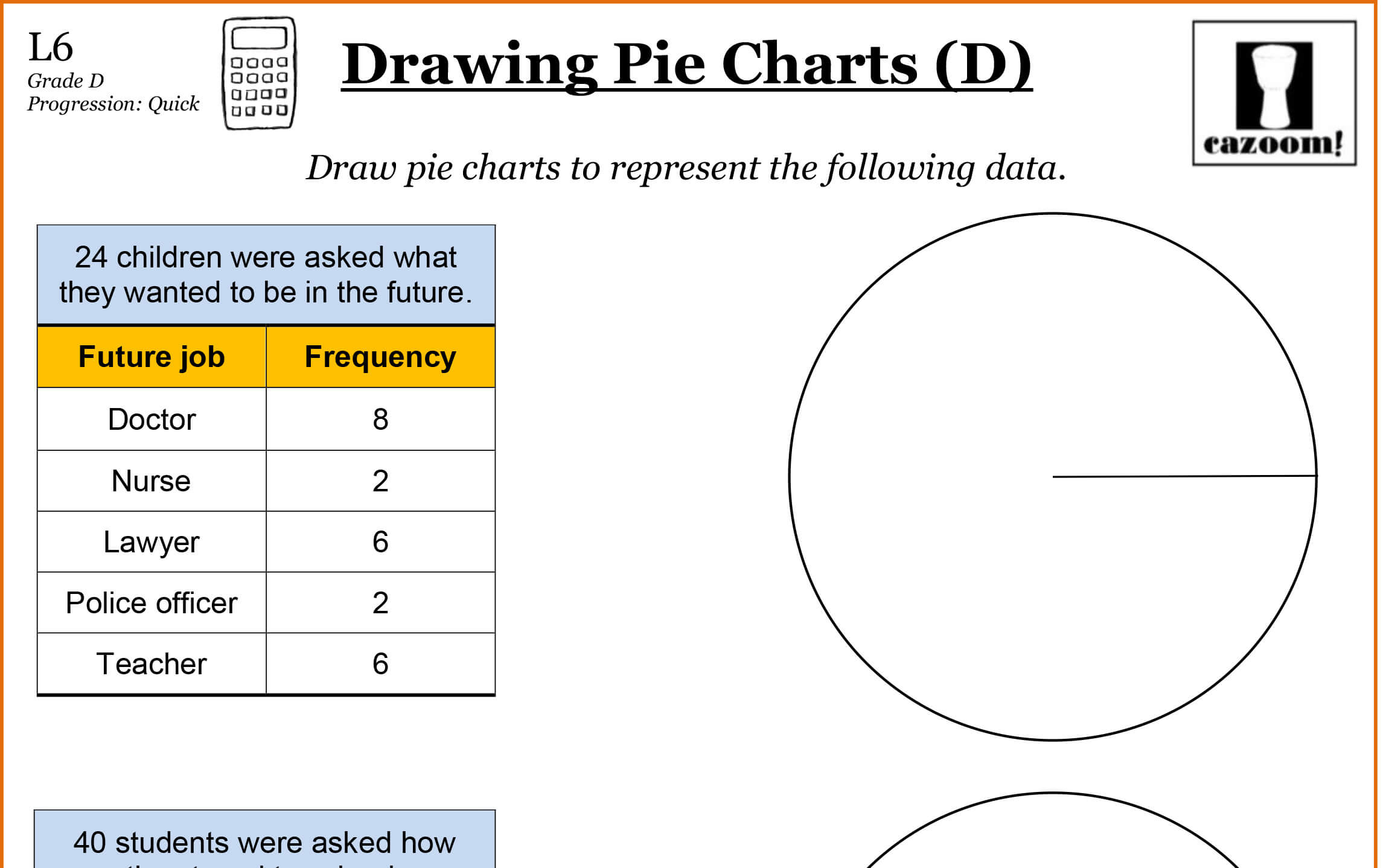 Worksheet Pie Chart Worksheets Grass Fedjp Worksheet