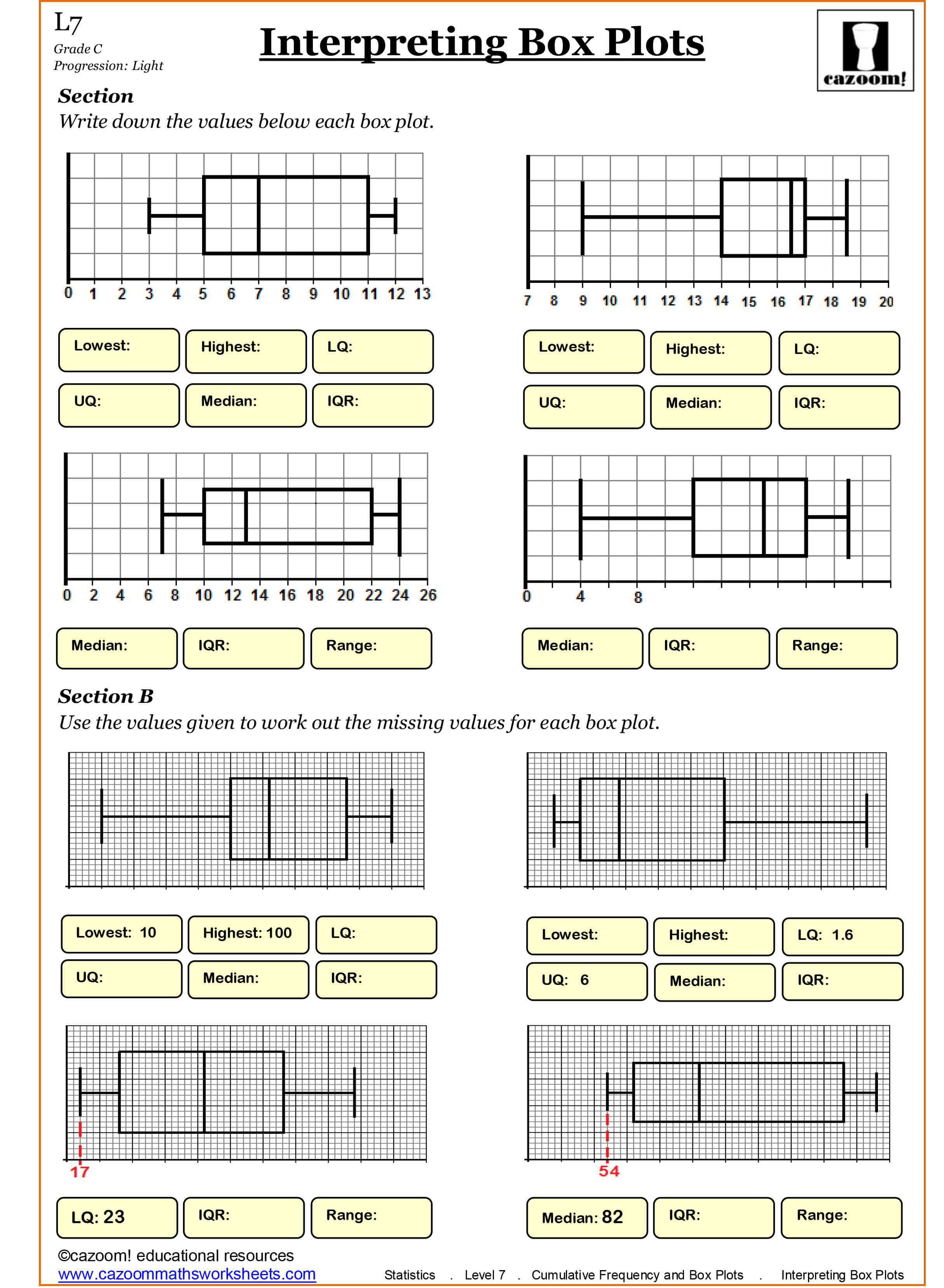 Square Numbers Worksheet Year 4