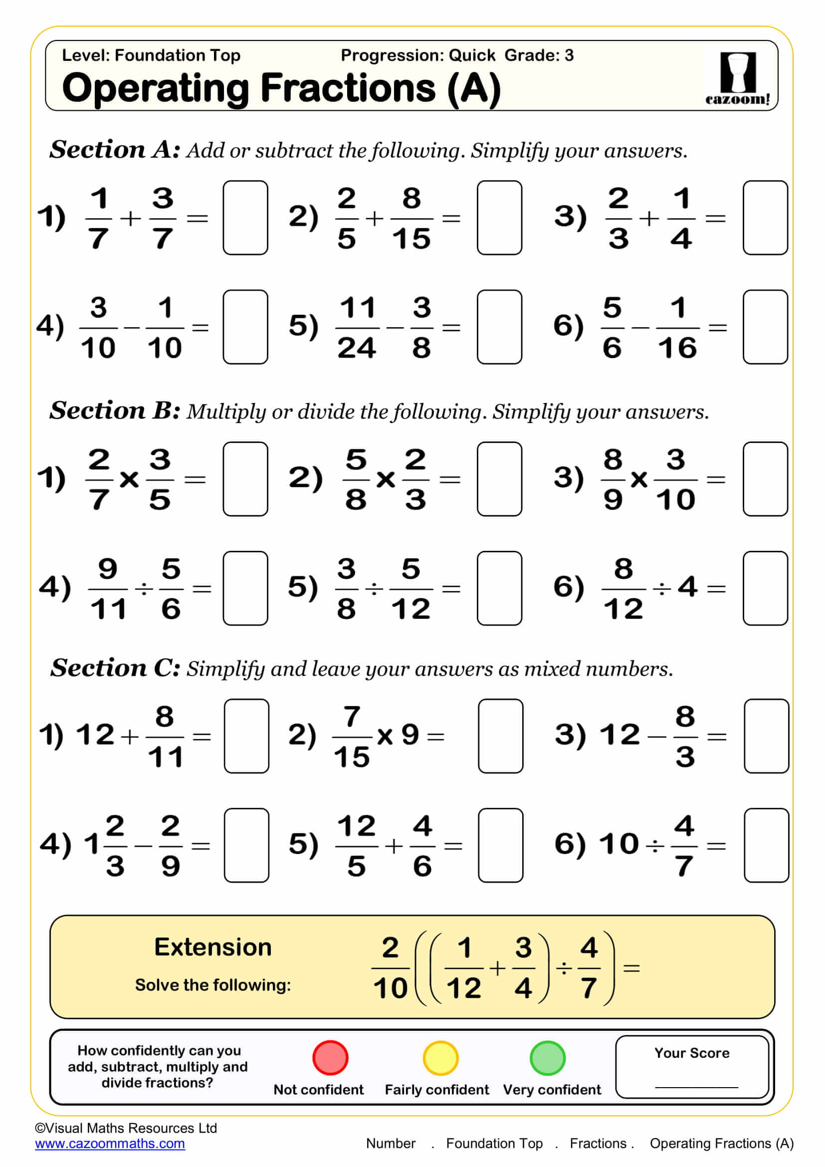 Integer Fun Worksheet