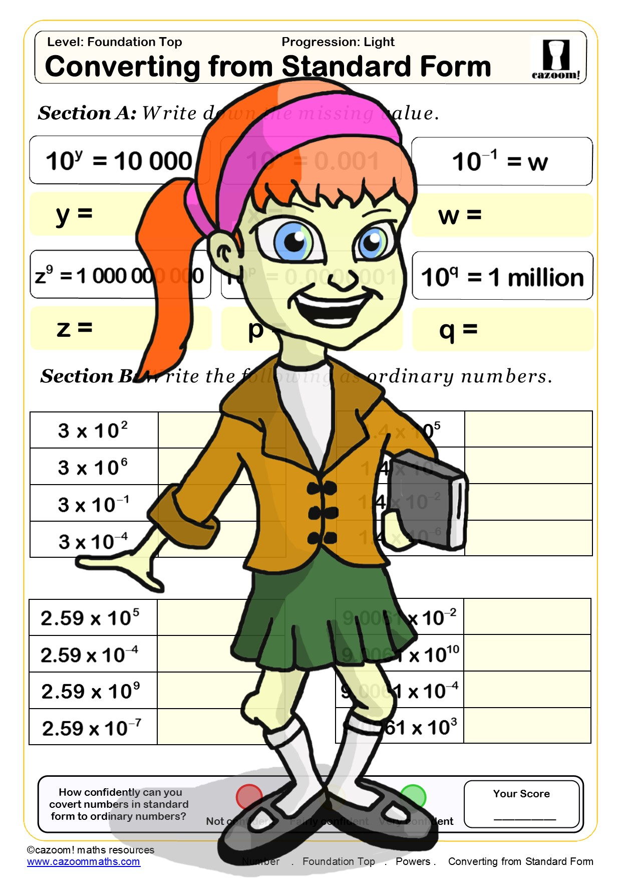 Year 10 Number Maths Worksheets