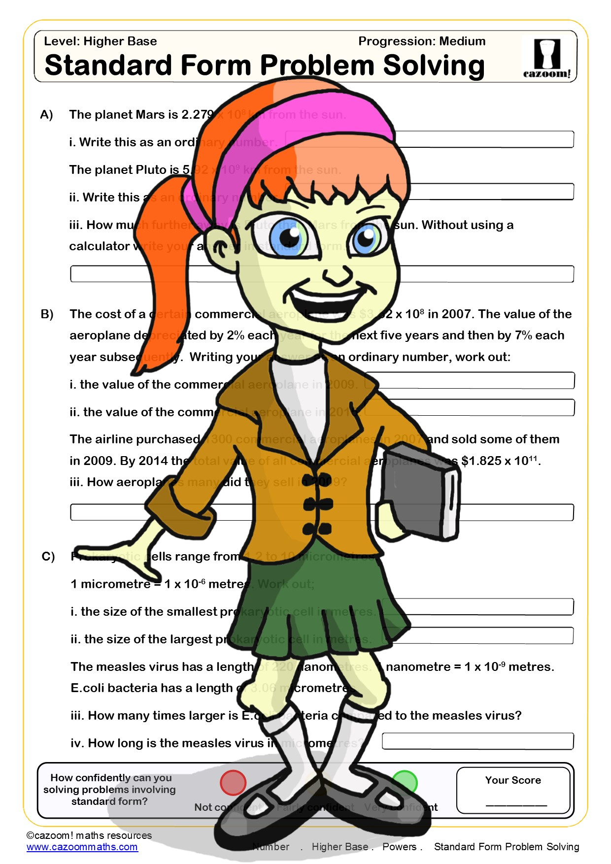 Powers Worksheet Ks3
