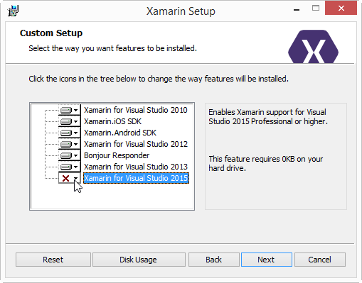 Install 2015 Feature