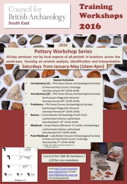 CBASE pottery workshops