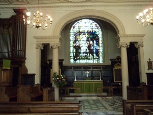 The Chancel of King Charles the Martyr