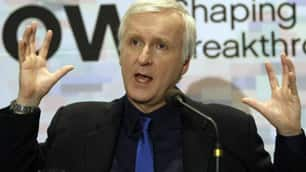 Film director James Cameron, in South Korea May 13, has told Alberta premier Ed Stelmach he wants to meet to discuss the oilsands.