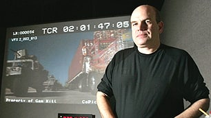 The Wire creator David Simon, a former Baltimore crime reporter, spoke to the Johns Hopkins class about the show, which last aired in March 2008.