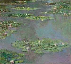 Claude Monet's Water Lilies is to sell Wednesday to benefit  the Hackley School in suburban Tarrytown, N.Y.