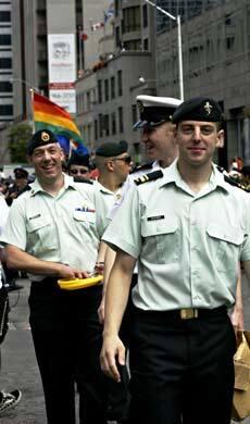 Pride soldiers