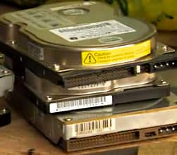 One of the hard drives contained personal information and photos of a family in the U.K. Another contained sensitive data about U.S. defence contracts.