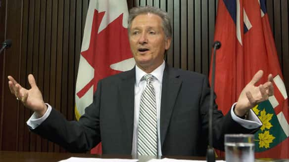 Ontario Auditor General Jim McCarter's report on eHealth criticizes the agency for relying too much on consultants and for lacking strategic direction.