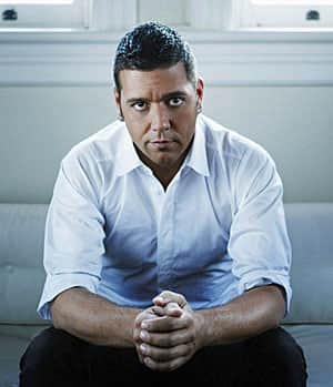 CBC TV and radio host George Stroumboulopoulos, a fast talker.