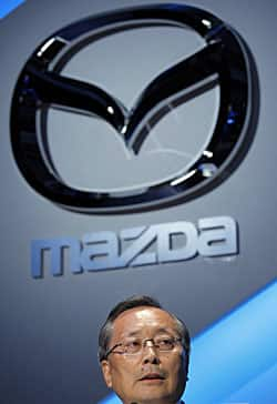 The shiny bull's horns are fine but linguists would say it is the zoom zoom that makes Mazda move.