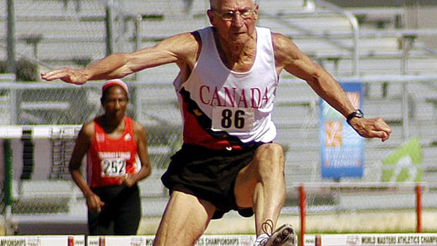 Earl Fee, 82, credits his intense training regime for his vitality.