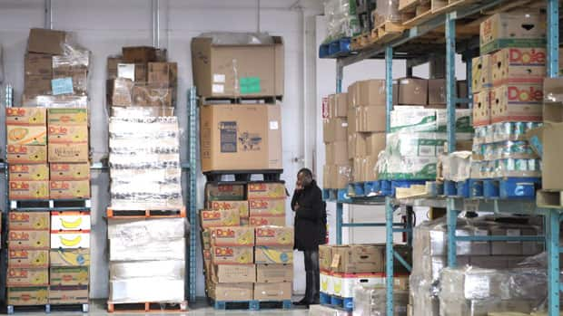 The Salvation Army says several million dollars worth of toys and other items were taken from this Railside Road food and toy distribution centre in Toronto.