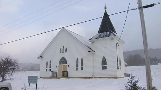 The new church will be open for the Christmas Eve service. The original church was built in 1880.