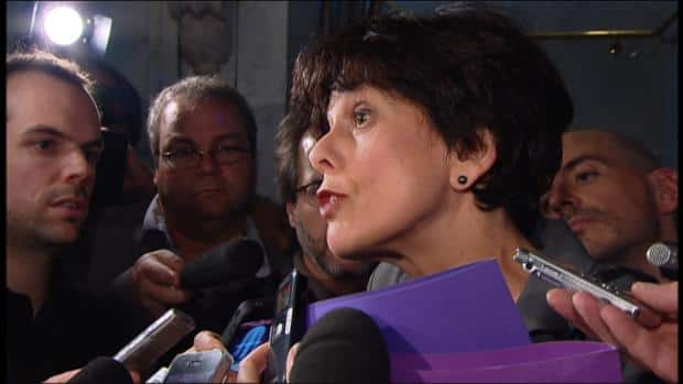 Quebec Education Minister Michelle Courchesne said Monday night's relatively peaceful demonstration showed protests can take place within the parametres of the new law.<br /><br /><br /><br /><br /><br />