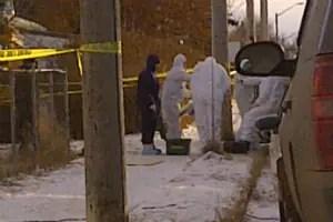 RCMP respond to the Nov. 26 blast that killed Shachtay.