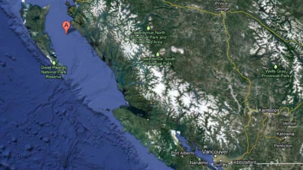 Jesse Brillon and his two friends Brian and Dave Martynuik were stranded on Banks Island, in the middle of Hecate Strait, for 10 days earlier this May.