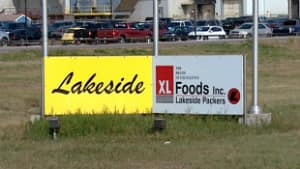 Products at XL Foods Inc. in Brooks, Alta., are currently under detention by the Canadian Food Inspection Agency until they can be tested for E. coli.