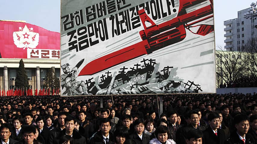 North Korea has cancelled its nonagression agreements with the South and cut off a direct hotline with as well Thursday.