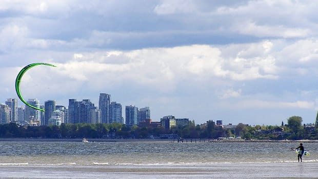 The Vancouver park board is reconsidering a summertime ban on kiteboarding.