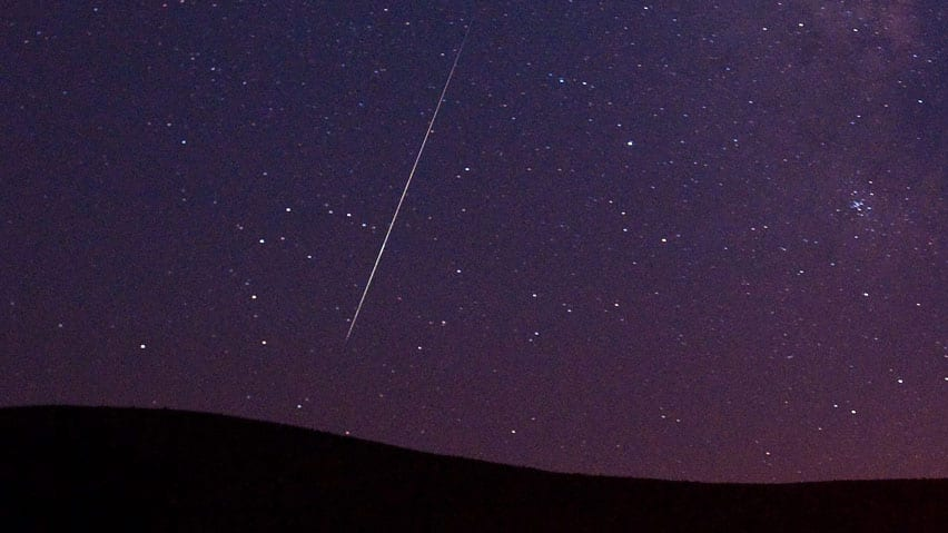 The meteor rate will highest before sunrise when the constellation Perseus, where the meteors appear to originate, is high in the sky, NASA says.