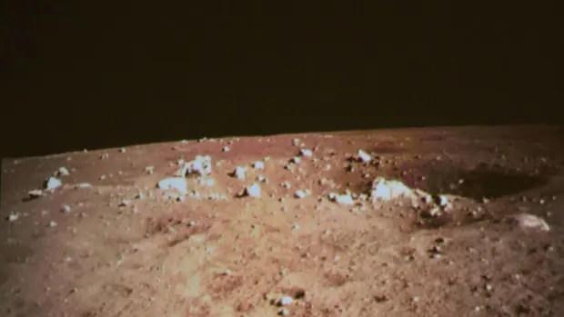 Immagini della Luna dal Coniglio di Giada