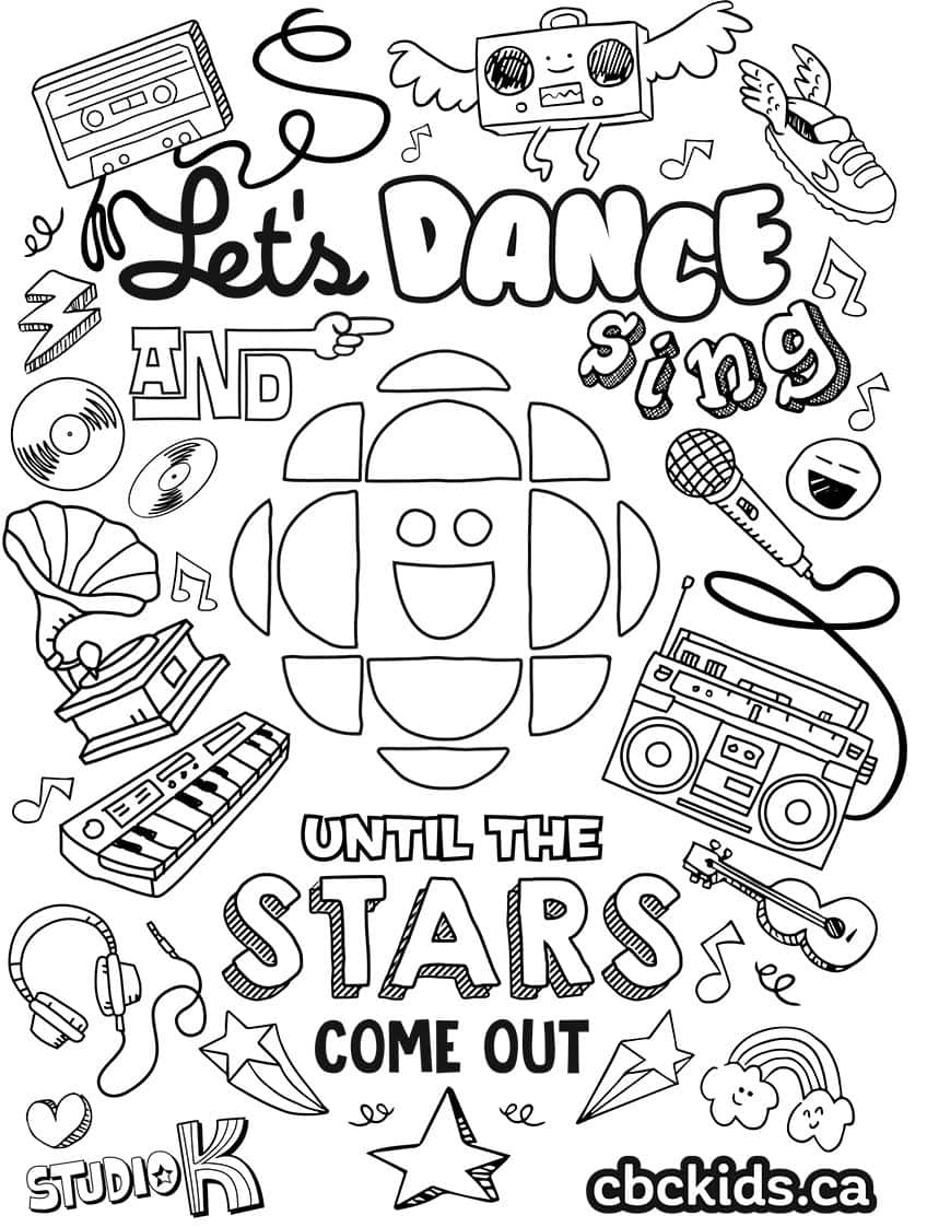 16 Colouring Pages For Colouring Book Day Explore Awesome Activities Fun Facts Cbc Kids