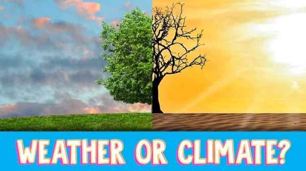 Do you know the difference between weather and climate ...