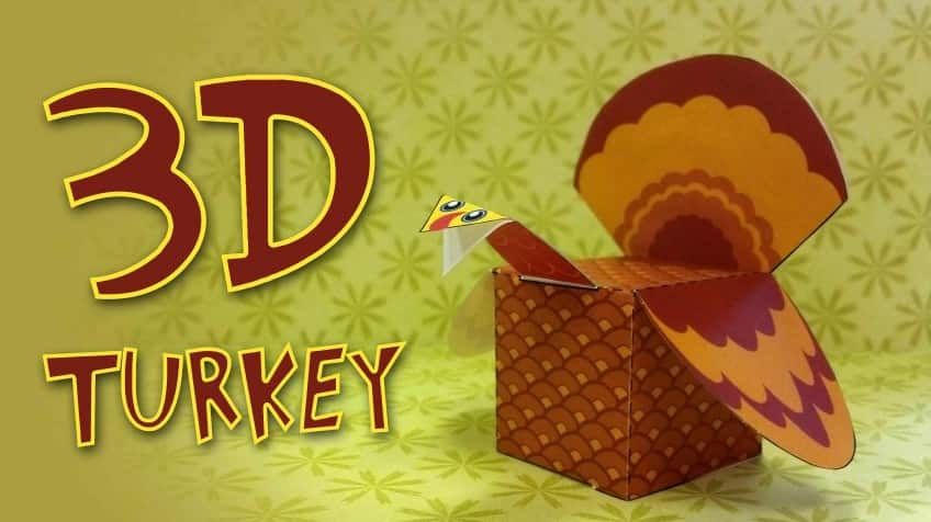 Celebrate Thanksgiving With Your Own 3D Turkey Explore