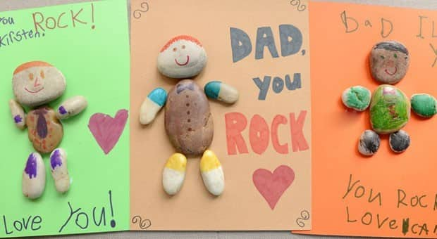 Dad Rocks Fathers Day Craft Play CBC Parents