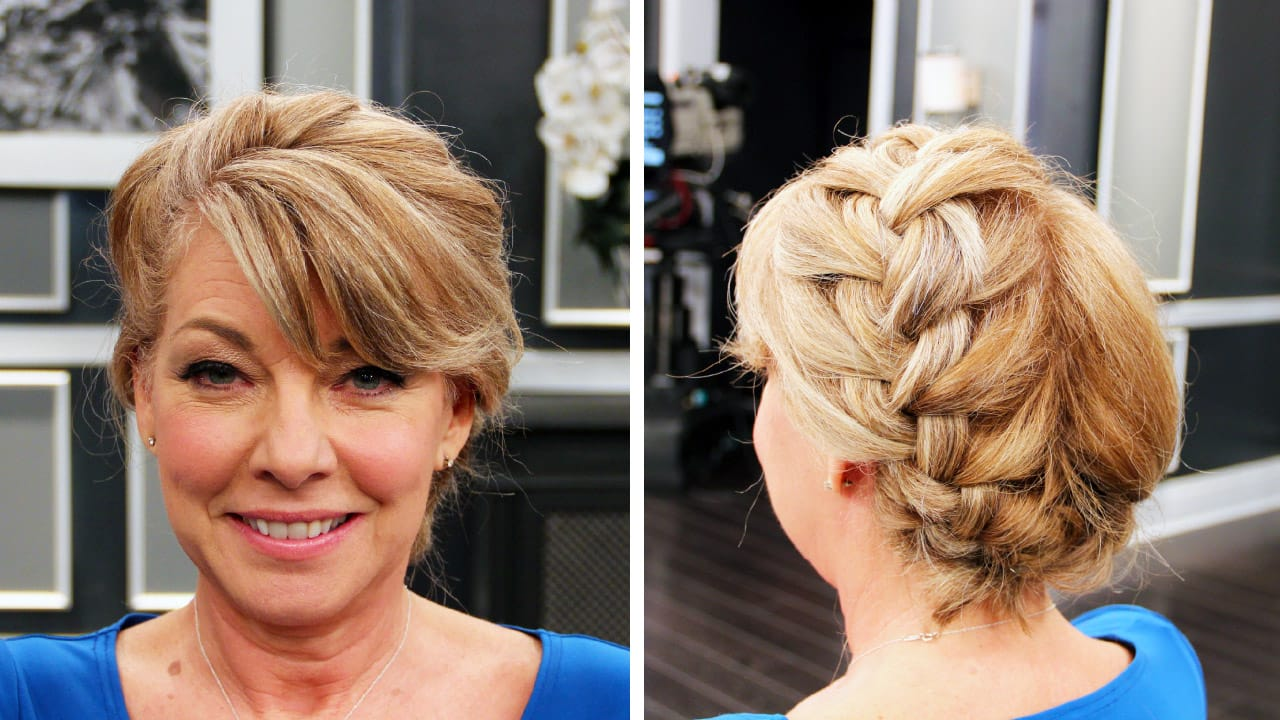 Hairstyle How To Two Step Updos Steven And Chris
