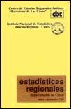 Estadísticas regionales. Departamento del Cuzco, enero-diciembre de 1989
